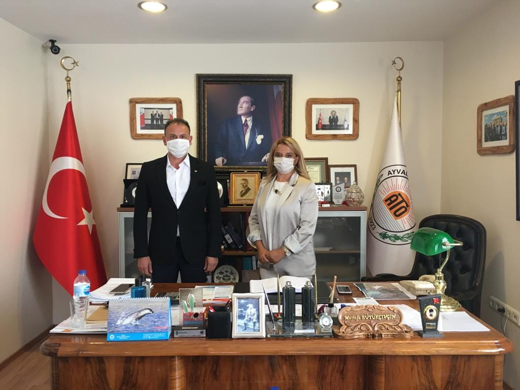 Balıkesir TEKNOKENT Genel Müdür Yardımcısı Burcu Aydemir Odamızı Ziyaret Etti