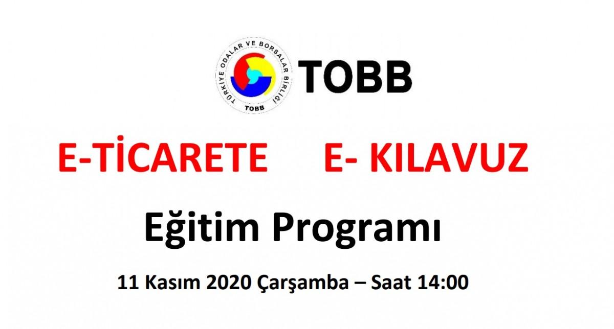 E-TİCARETTE E- KILAVUZ EĞİTİM PROGRAMI