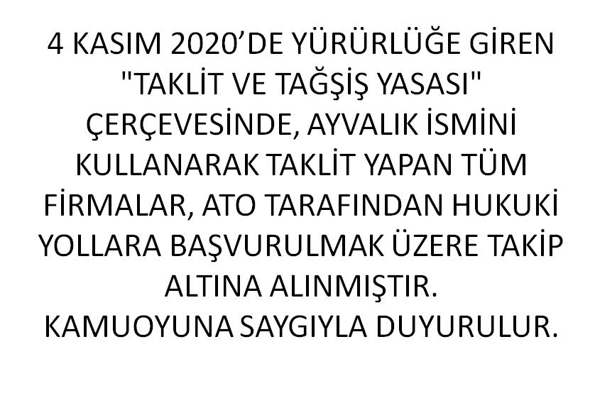 ÜYELERİMİZE DUYURULUR!