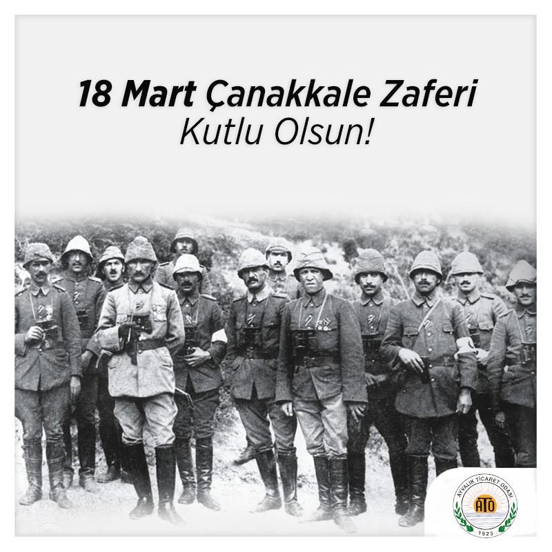 18 MART ÇANAKKALE ZAFERİ KUTLU OLSUN.